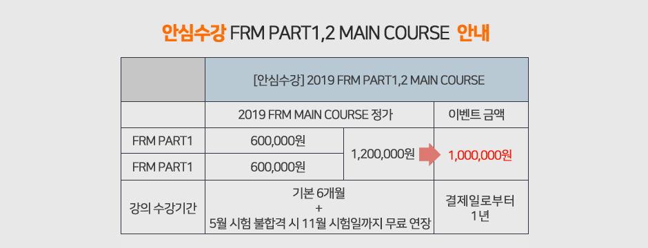 2019 FRM 오픈페이지