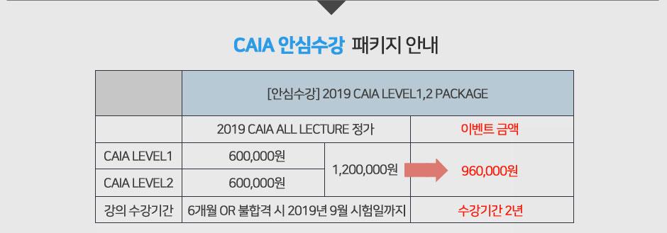 2019 CAIA 오픈페이지